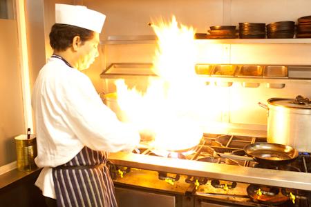 Chef at haldi restaurant rh13