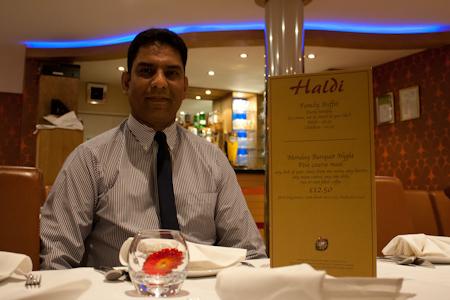 manager at haldi restaurant rh13