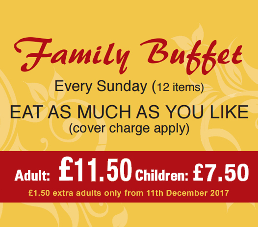 Family buffet haldi restaurant rh13