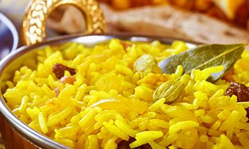 indian food at meghna bb6