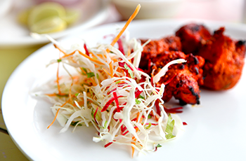Takeaway 10 percent discount for students and NHS Staff at spice of india tw2