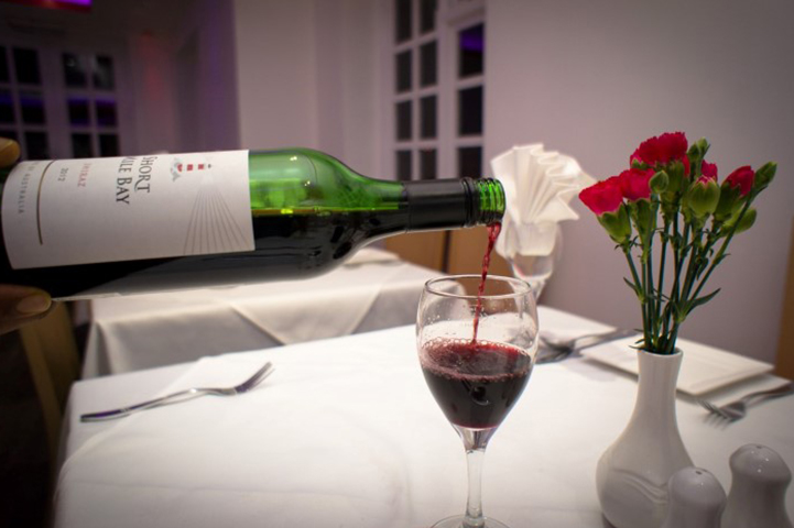 Wine offer at Maya Tandoori