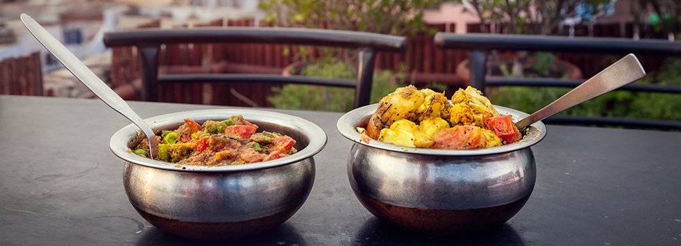 Balti dish at Chutneys Indian Restaurant NE16