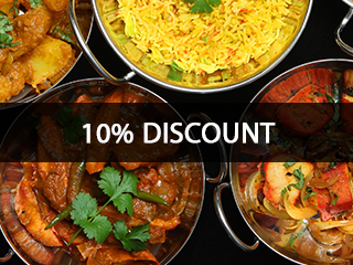 10% Discount Akbar The Great Indian Restaurant DL3