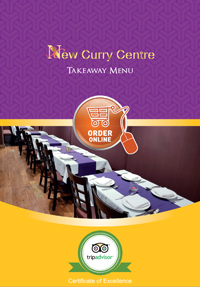 Menu the new curry centre rh12