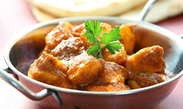 indian food at aroma np10
