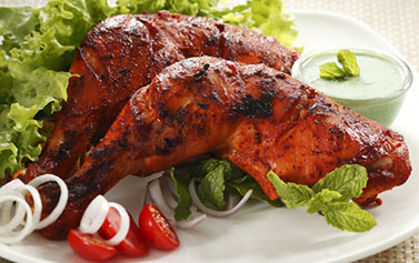 Chicken tandoori Takeaway Nawab to Go KT6