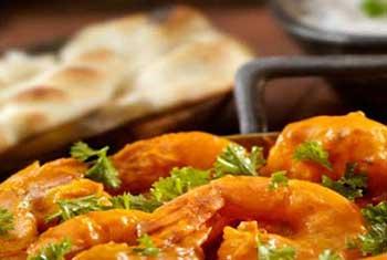 Takeaway prawn dish bengal spices al10