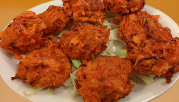 Takeaway onion bhaji the edge m27