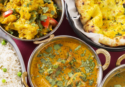 Takeaway curry Indian Garden N7