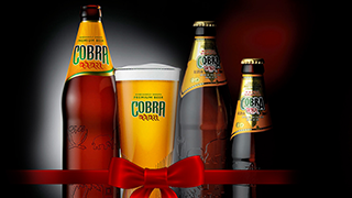 Free cobra beer Offer Indian Garden at N7