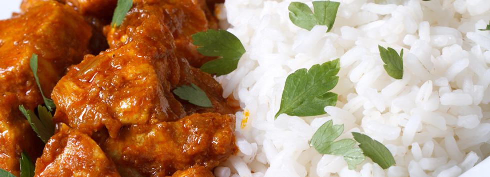 takeaway rice spice balti B17