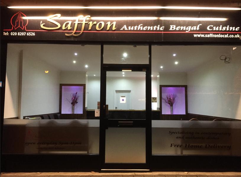 Front view at Saffron herts