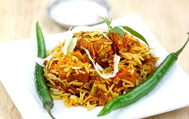 Takeaway Biriyani Rabbanis Indian Restaurant At Wd17