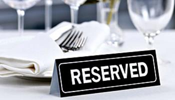 Reservation taj restaurant rm12