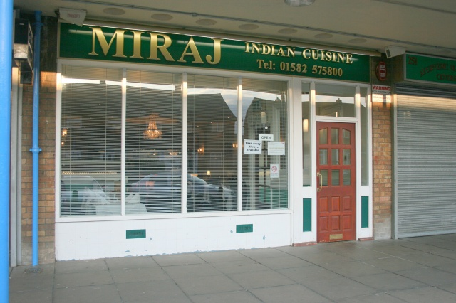 Takeaway Food Miraj Indian LU3
