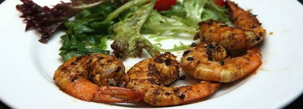 Takeaway prawn Spice Lounge WD18