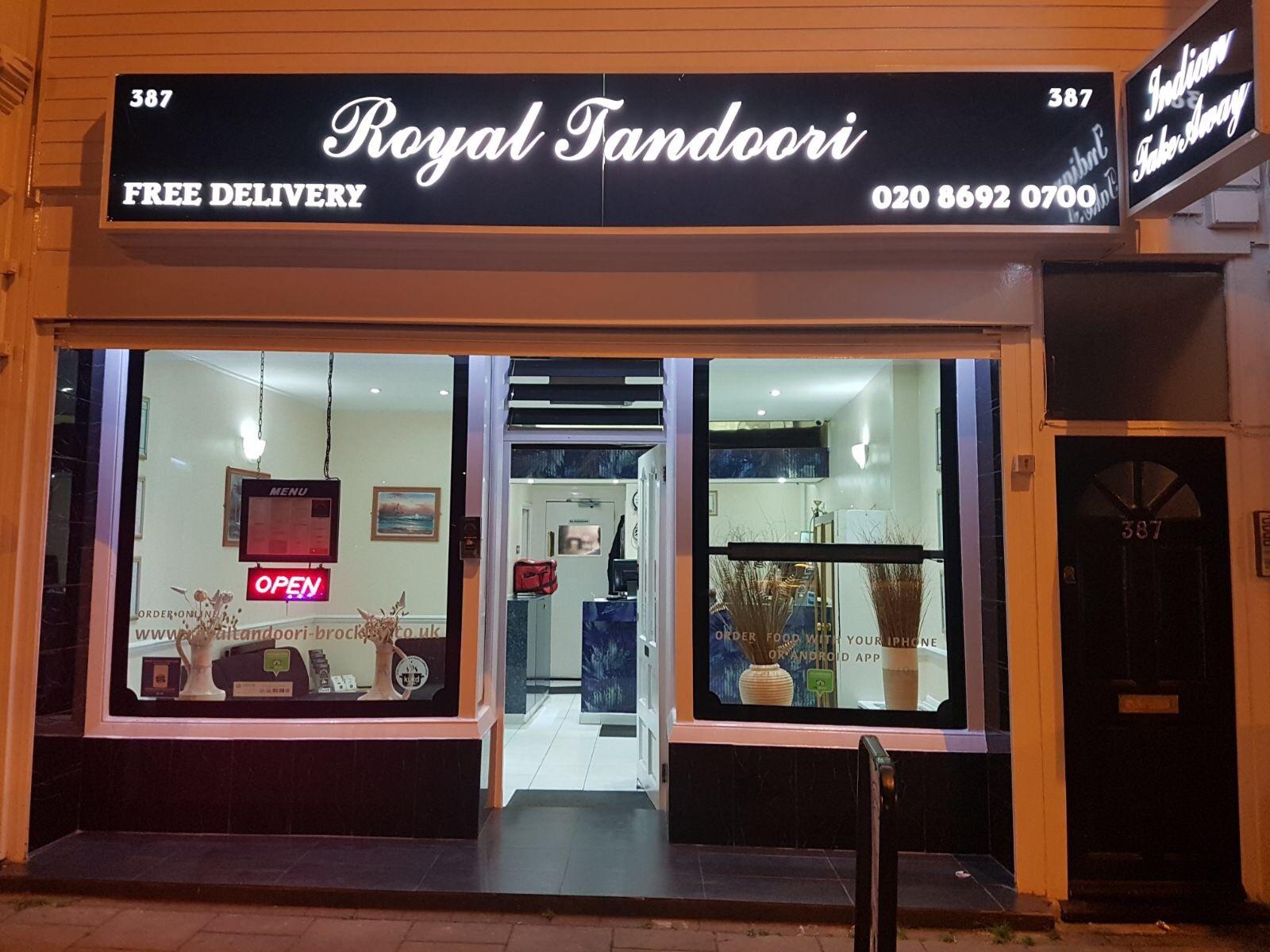 Takeaway front royal tandoori se4