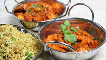 Takeaway Rice Balti Khyber Balti House At AL10