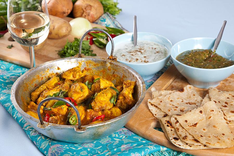 Chicken Curry Polash Indian Takeaway DA1