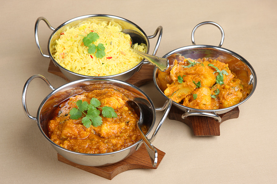 Rice Curry Polash Indian Takeaway DA1