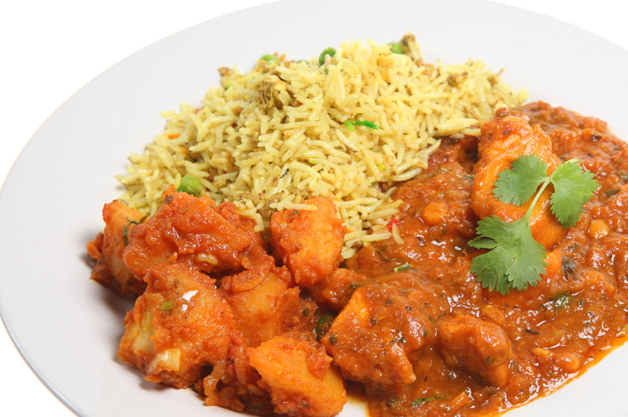 Rice Curry Polash Indian Takeaway DA1