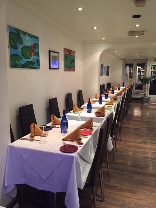 restaurant bengal village at E1