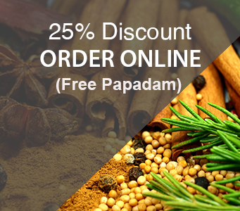 Takeaway online order 25 percent discount Bengal Village E1