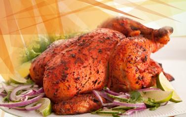 Free Whole Tandoori Chicken Takeaway Bhujon HP23