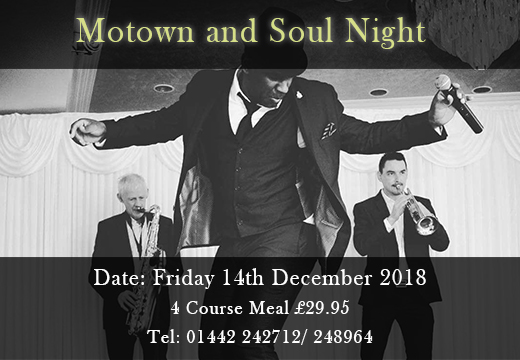 Motown & Sole night at Mazza Restaurant