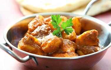 Takeaway aloo Curry Leaf AL1