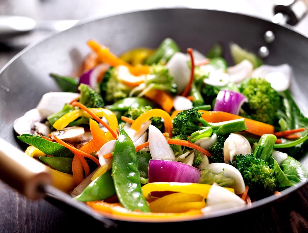 Takeaway vegetables Sukhothai At HP16