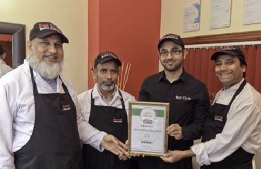 Takeaway award red chilli LL22