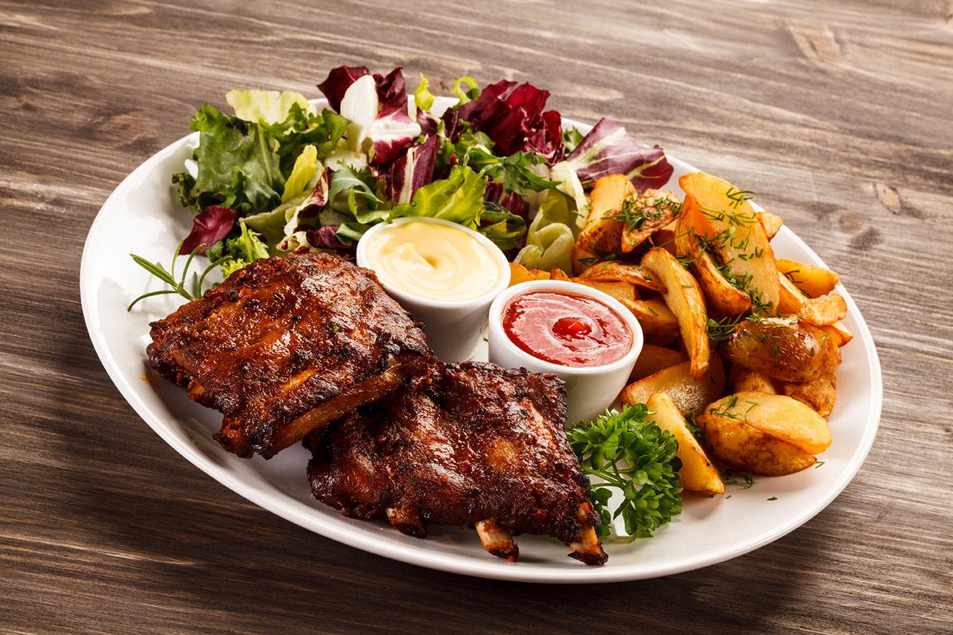 Bejoy Tandoori Restaurant Aloo Fry