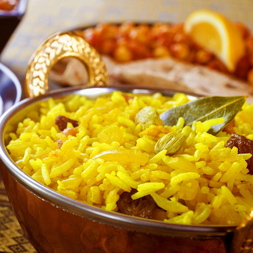 Takeaway mixed rice Esher Tandoori At KT10