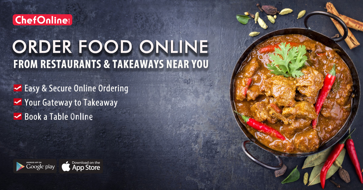 Order Food Online From Restaurants Takeaways Nearby
