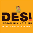 INDIAN takeaway Chelmsford CM2 Desi Indian Dining Club logo