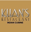 INDIAN takeaway Battersea SW11 Khans Restaurant logo