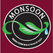INDIAN, BANGLADESHI takeaway Highgate NW5 Monsoon logo