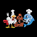 ENGLISH takeaway Sundon LU3 Mr Fish & Grill logo