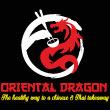 CHINESE, THAI takeaway Chingford E4 Oriental Dragon logo