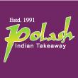 INDIAN takeaway  DA1 Polash Tandoori Indian Takeaway logo