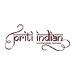 INDIAN takeaway Eastbourne  BN21 Priti Indian logo