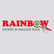 JAPANESE takeaway Aldgate E1 Rainbow Sushi and Salad Bar logo