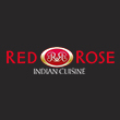 INDIAN takeaway Woodley RG5 Red Rose Indian Cuisine logo