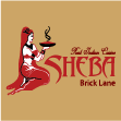 INDIAN takeaway Whitechapel E1 Sheba logo