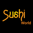 JAPANESE, SUSHI takeaway Lee Green SE12 Sushi World logo
