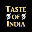 INDIAN takeaway Bixley Farm IP4 Taste Of India logo