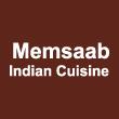INDIAN takeaway East Dulwich SE22 Memsaab Indian Cuisine logo