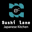 JAPANESE takeaway Shoreditch E1 Sushi Lane logo